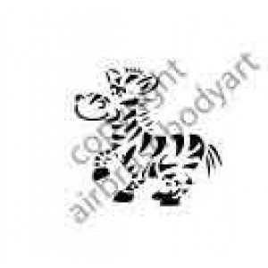 0290 zebra reusable stencil